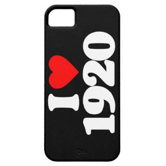 I LOVE 1920 iPhone 5 CASES