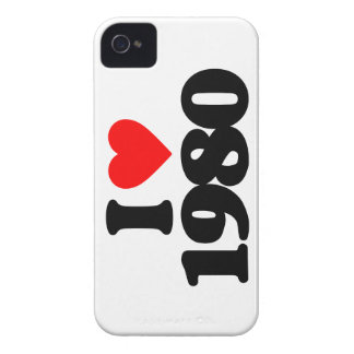 I LOVE 1980 iPhone 4 CASE