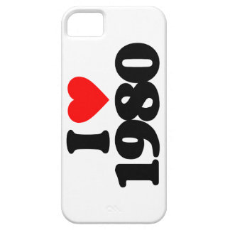 I LOVE 1980 iPhone 5 COVERS