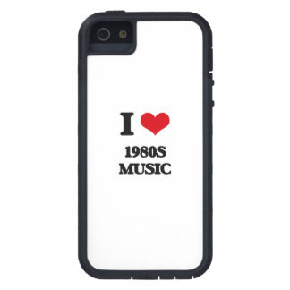I Love 1980S MUSIC iPhone 5/5S Cover