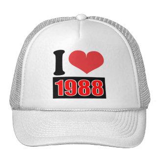I love 1988    - Hat