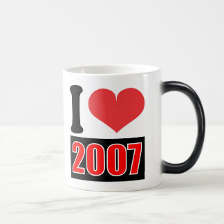 I love 2007 - Mugs