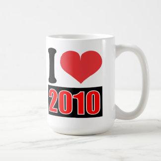 I love 2010 - Mugs