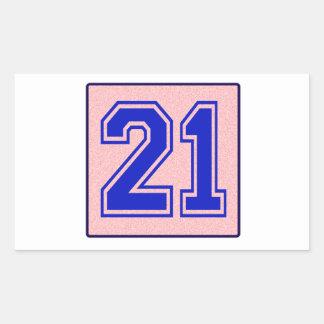 I love 21 stickers