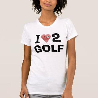 I Love 2 Golf Shirt