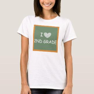 I Love 2nd Grade T-Shirt