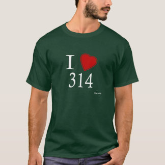 I Love 314 St. Louis T-Shirt