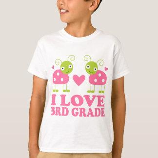 I Love 3rd Grade Ladybug T-Shirt
