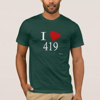 I Love 419 Toledo T-Shirt