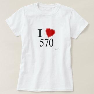I Love 570 Scranton T-Shirt