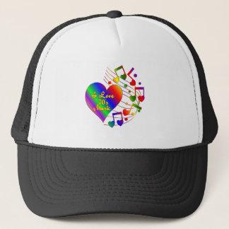 I Love 70s Music Trucker Hat