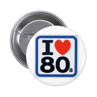 I love 80s Badge