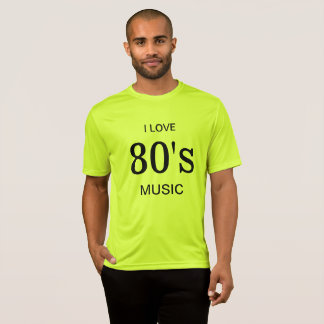I Love 80's Music Tee
