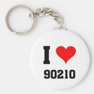 I love 90210 key ring