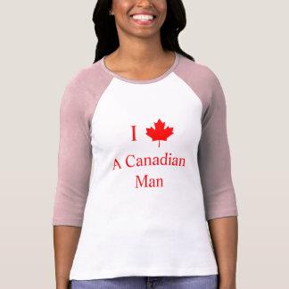 I Love A Canadian Man T-Shirt
