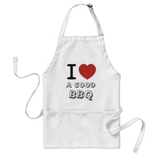 I LOVE a good bbq Standard Apron