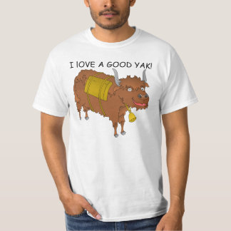 I love a good YAK t-shirt