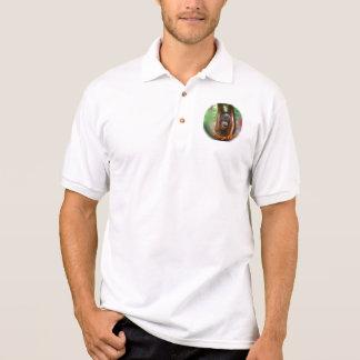I Love a Happy Orangutan Polo T-shirts