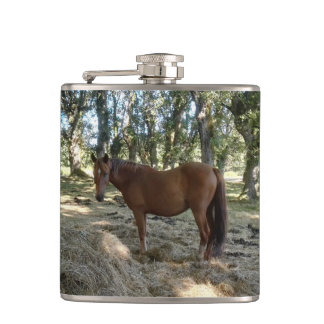 I love a horse hip flask