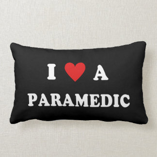 I Love a Paramedic Lumbar Pillow