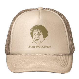 I love a sucker trucker hat