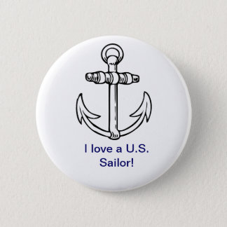 I love a U.S. Sailor Button
