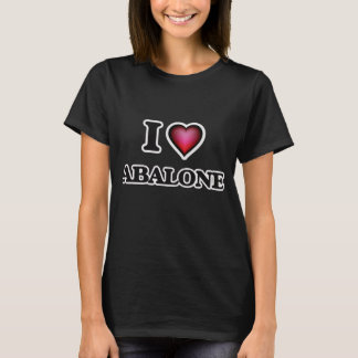 I Love Abalone T-Shirt