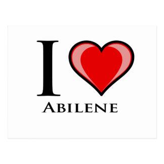 I Love Abilene Postcard