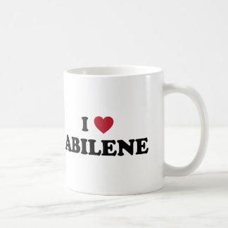 I Love Abilene Texas Coffee Mug