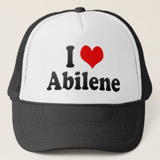 I Love Abilene, United States Trucker Hat