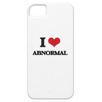I Love Abnormal iPhone 5/5S Covers