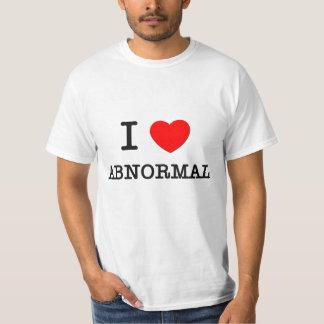 I Love Abnormal T-Shirt