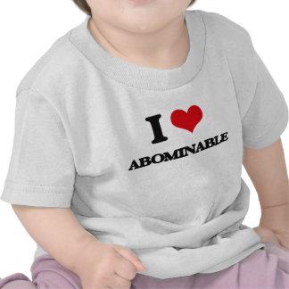 I Love Abominable Shirts