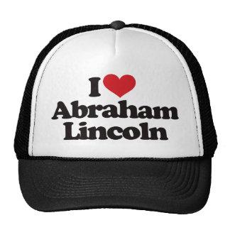 I Love Abraham Lincoln Hat