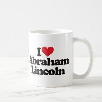 I Love Abraham Lincoln Coffee Mugs
