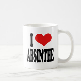 I Love Absinthe Coffee Mug