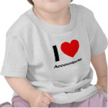 i love accountants t shirts