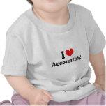 I Love Accounting Shirts