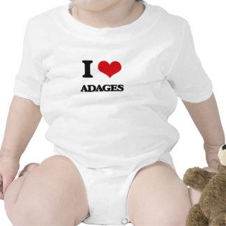 I Love Adages Romper