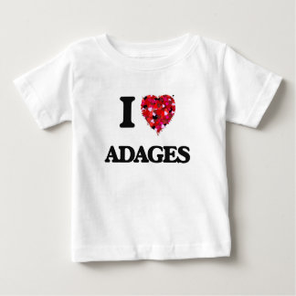 I Love Adages T Shirt