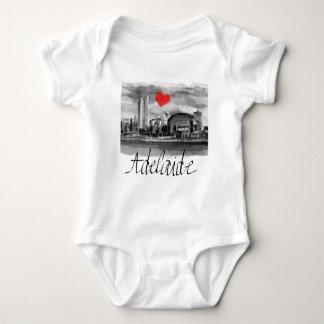 I love Adelaide Baby Bodysuit