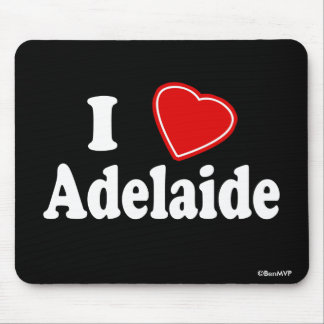 I Love Adelaide Mouse Pad