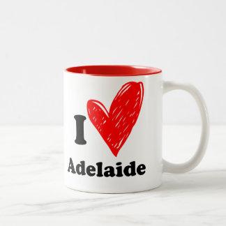 I love Adelaide Two-Tone Coffee Mug