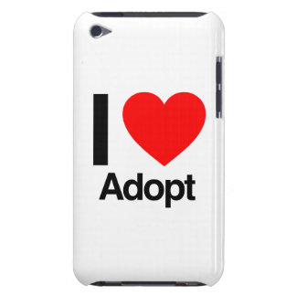 I love adopt barely there iPod cover