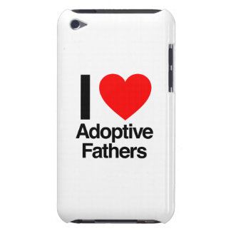 i love adoptive fathers barely there iPod case