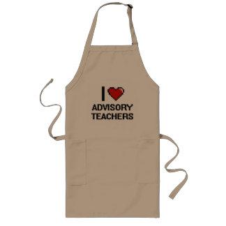 I love Advisory Teachers Long Apron