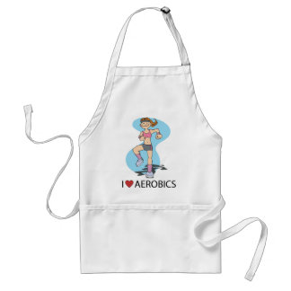 I Love Aerobics Standard Apron