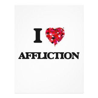 I Love Affliction 21.5 Cm X 28 Cm Flyer