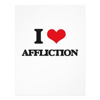 I Love Affliction Full Color Flyer