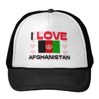 I Love Afghanistan Trucker Hat